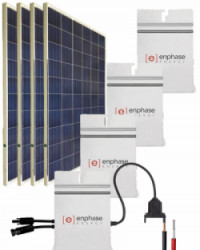 Kit Solar Red 5400Whdia  con Microinversor