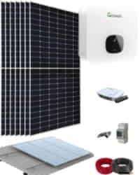 Kit Solar Residencial 3000W 15000Whdia Growatt