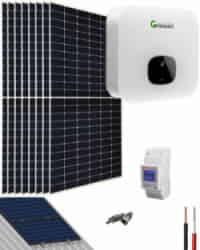 Kit Solar Residencial 3600W 18000Whdia Growatt