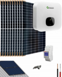 Kit Solar Residencial 4200W 21500Whdia Growatt