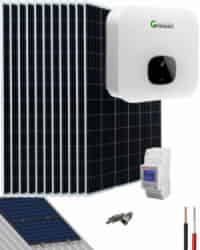 Kit Solar Residencial 4600W 23000Whdia Growatt