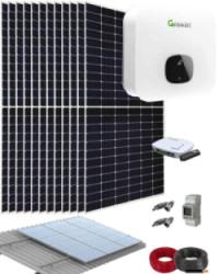 Kit Solar Residencial 6000W 30000Whdia Growatt
