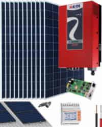 Kit Solar Riello 10000W 50000Whdia  Trifásico