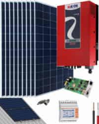 Kit Solar Riello 3000W 15000Whdia