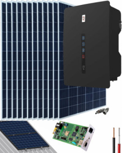 Kit Solar Riello 6000W 23500Whdia RS