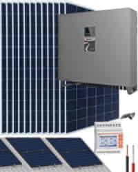 Kit Solar Trifásico 30000W 150kWhdia Riello