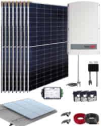 Kit Solar Trifásico 3000W SolarEdge 15000Whdia