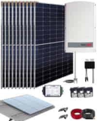 Kit Solar Trifásico 4000W SolarEdge 22000Whdia