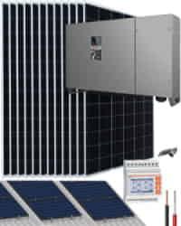 Kit Solar Trifásico 50000W 250kWhdia Riello