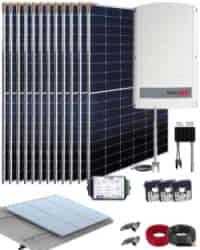 Kit Solar Trifásico 5000W SolarEdge 26000Whdia