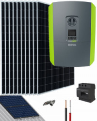 Kit Solar Trifásico 5500W 28000Whdia Kostal