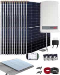 Kit Solar Trifásico 8000W SolarEdge 40700Whdia