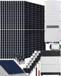 Kit Trifásico Autoconsumo 10000W SolarEdge 50000Whdia