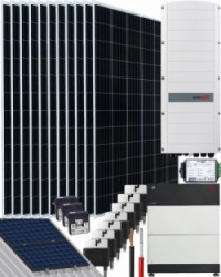 Kit Trifásico Autoconsumo 5000W SolarEdge 27000Whdia
