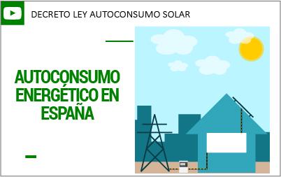 Legislación autoconsumo fotovoltaico
