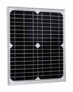 Panel Solar 20W 12V Monocristalino ME