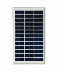 Panel Solar 5W 12V Cristalino Atersa