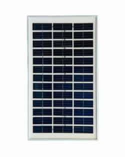 Panel solar 5w 12v cristalino atersa al mejor precio for Panel solar pequeno