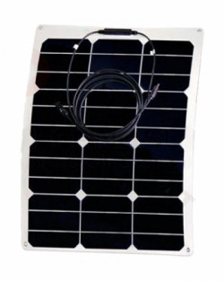 Panel Solar Flexible 35W 12V