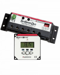 Controlador de Carga Solar 2 Baterías 25A MORNINGSTAR