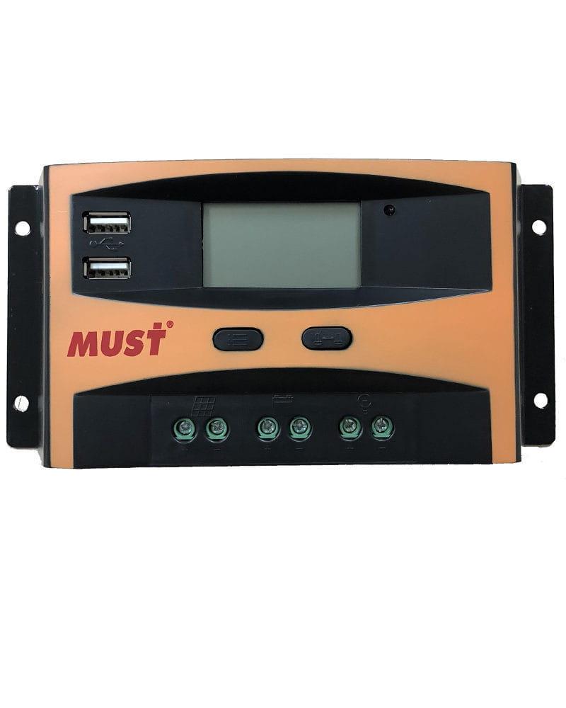 Regulador 12V / 24V 10A PWM Must Solar