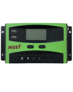 Regulador 12V / 24V 30A PWM Must Solar