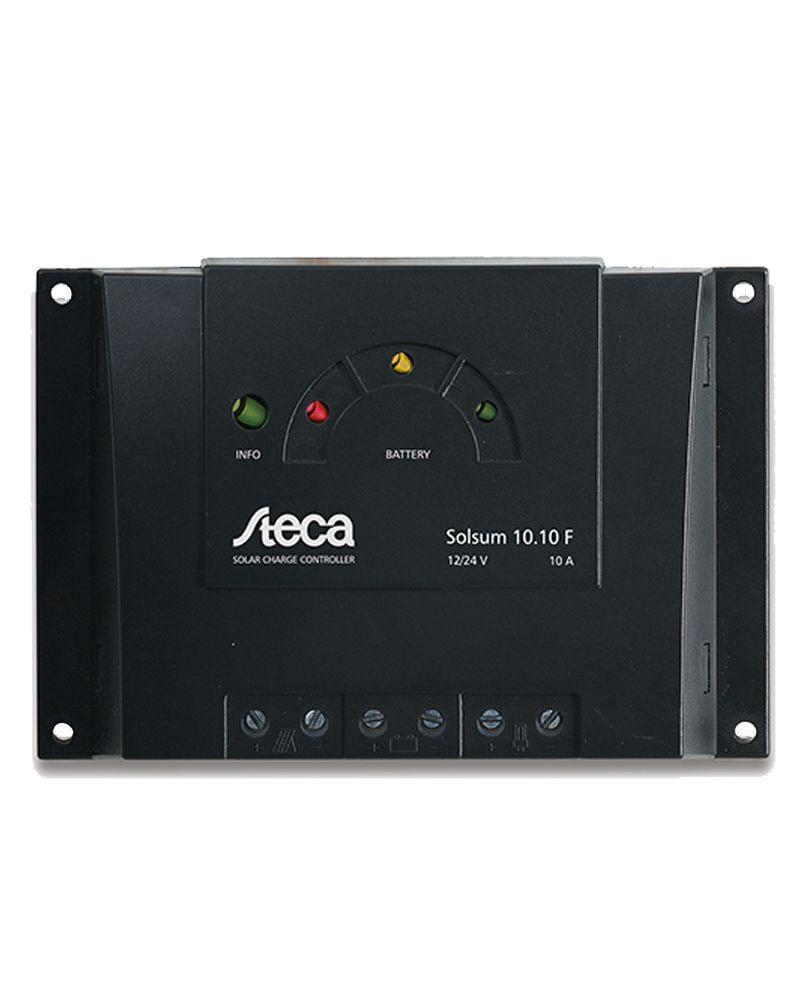Regulador Carga Steca 10A 12V / 24V Solsum