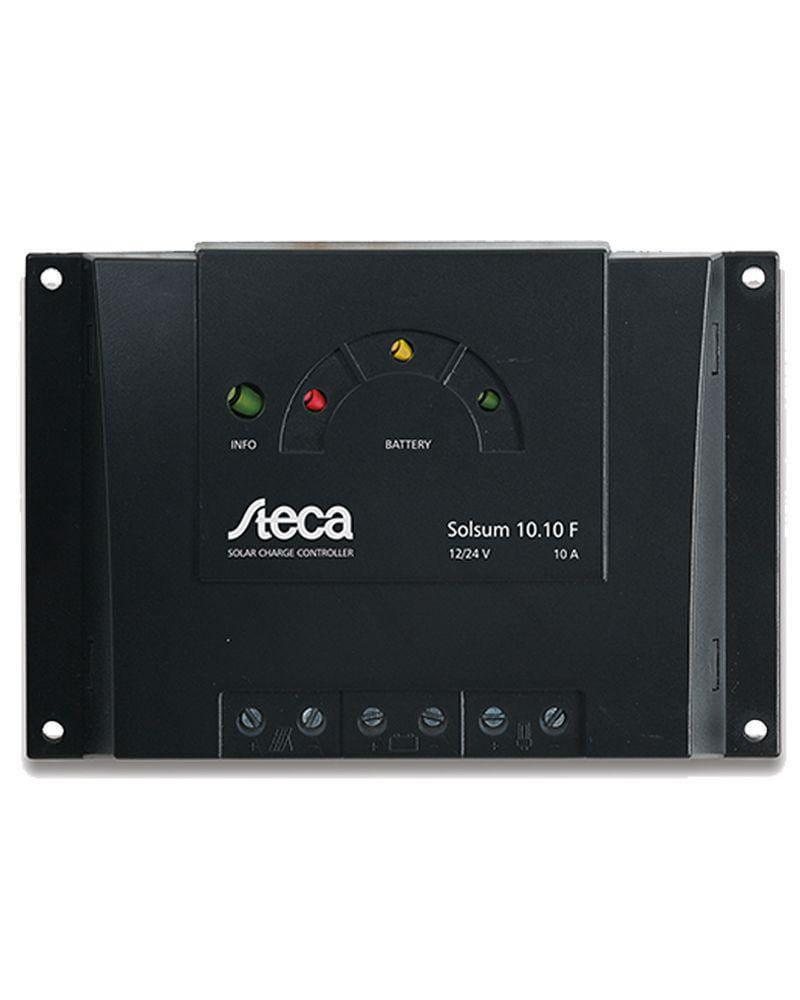 Regulador Carga Steca 6A 12V / 24V Solsum