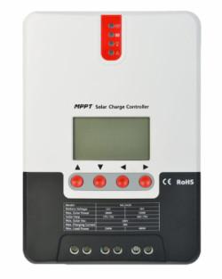Regulador MPPT 100V 20A LCD 12/24V