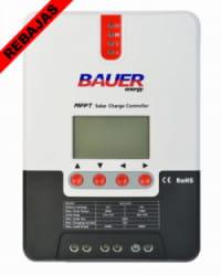 Regulador MPPT 100V 20A LCD Bauer 12/24V