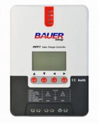 Regulador MPPT 100V 30A LCD Bauer 12/24V