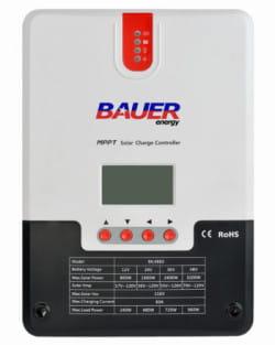 Regulador MPPT 150V 60A LCD Bauer 12/24/48V
