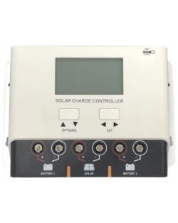 Regulador PWM 12/24V Dual 20A LCD