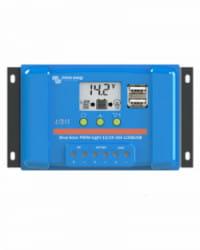 Regulador PWM Blue Solar 12/24V 10A LCD USB Victron