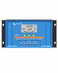 Regulador PWM Blue Solar 48V 10A LCD USB Victron