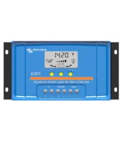 Regulador PWM BlueSolar 48V 10A LCD USB Victron