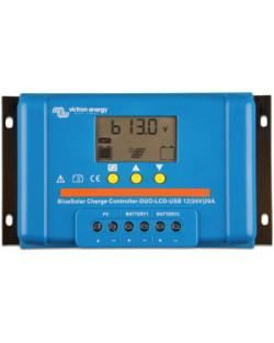 Regulador PWM BlueSolar 48V 20A LCD USB Victron