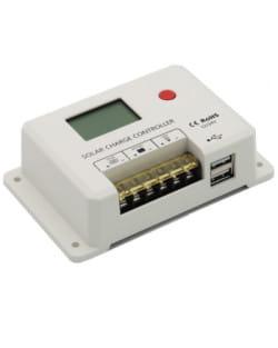 Regulador Solar PWM 10A 12/24V LCD